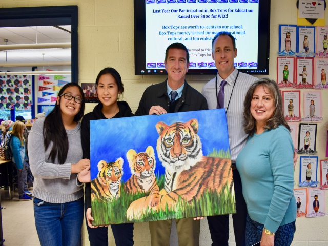 A big thank you to Ani Trinidad and Nalu Tano for their hard work alongside Ms. Cacace.