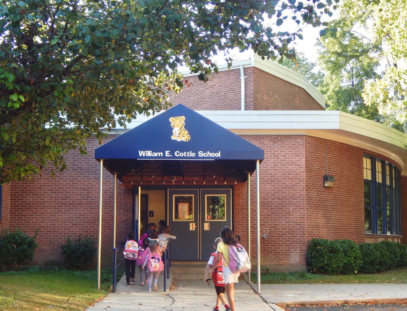 students entering Cottle
