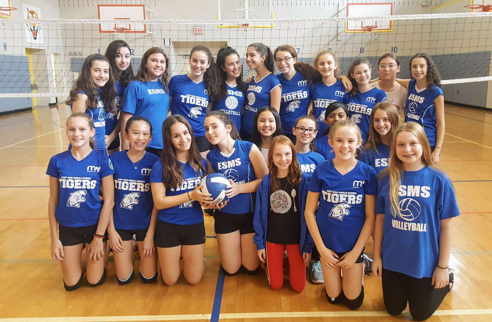 Photo of Girls Varsity Volleyball team  - 2018-2019