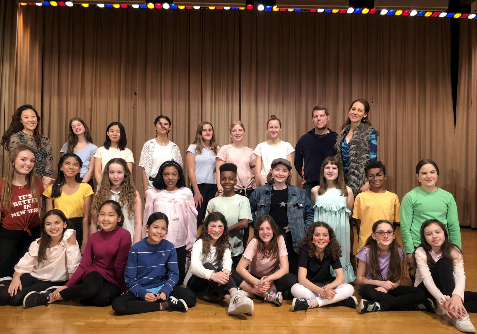 Photo of Pippin cast and crew - Spring Musical 2020