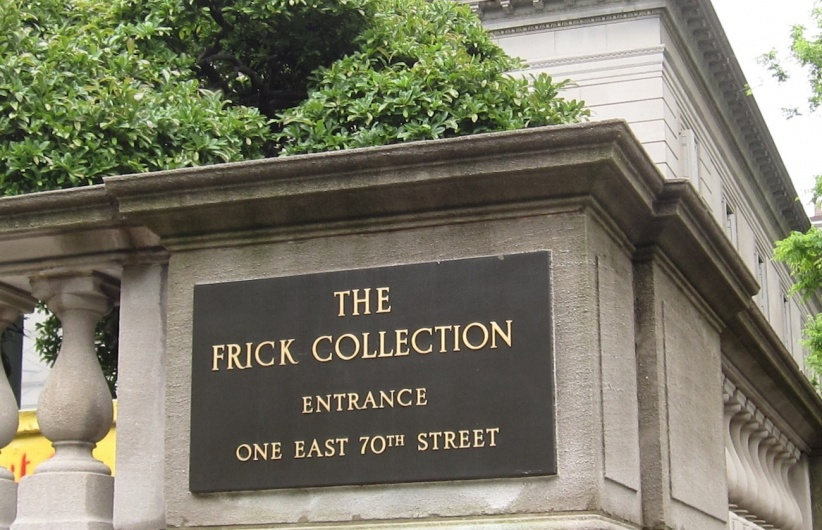 Outdoor Sign of the Frick Museum