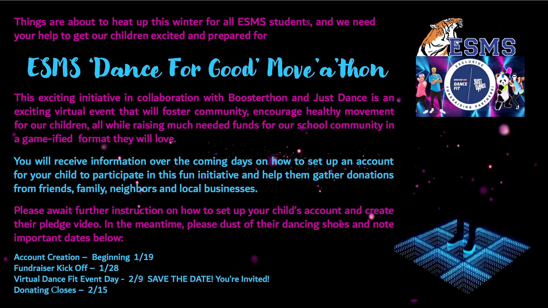 ESMS Dance for Feel Good