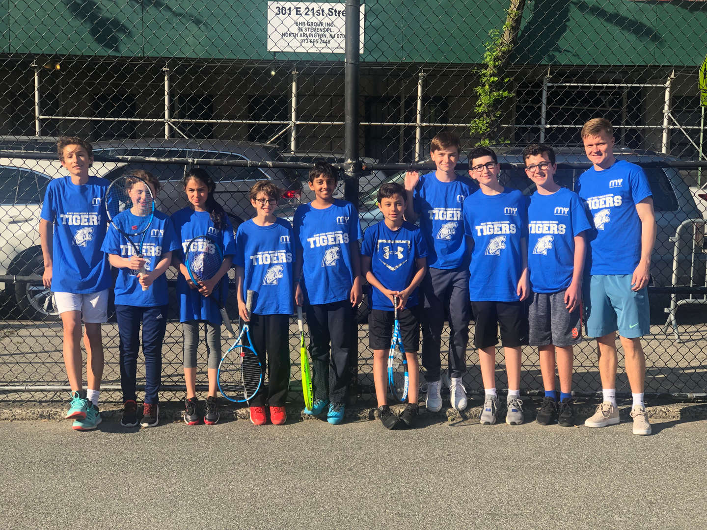 Photo of ESMS Tennis Team - 2018 - 2019