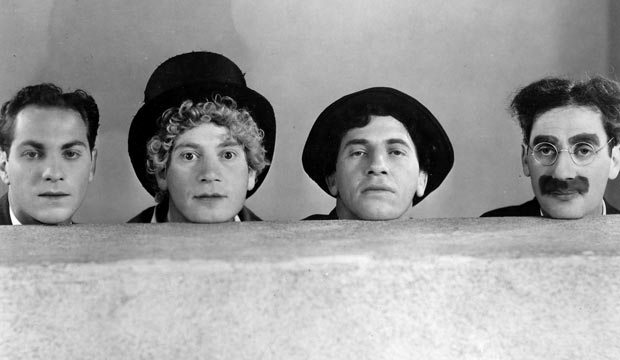 Two of the Marx Brothers