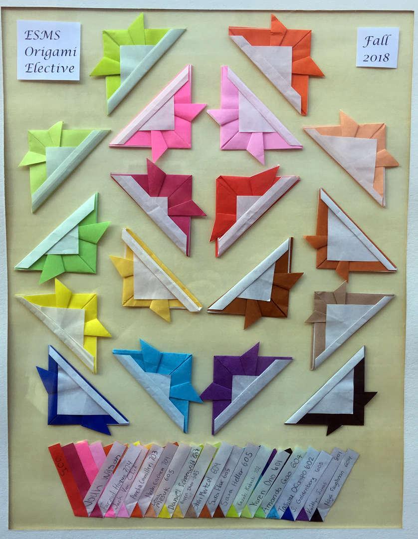 Photo of origami Kaubto (Japanese Helmet)