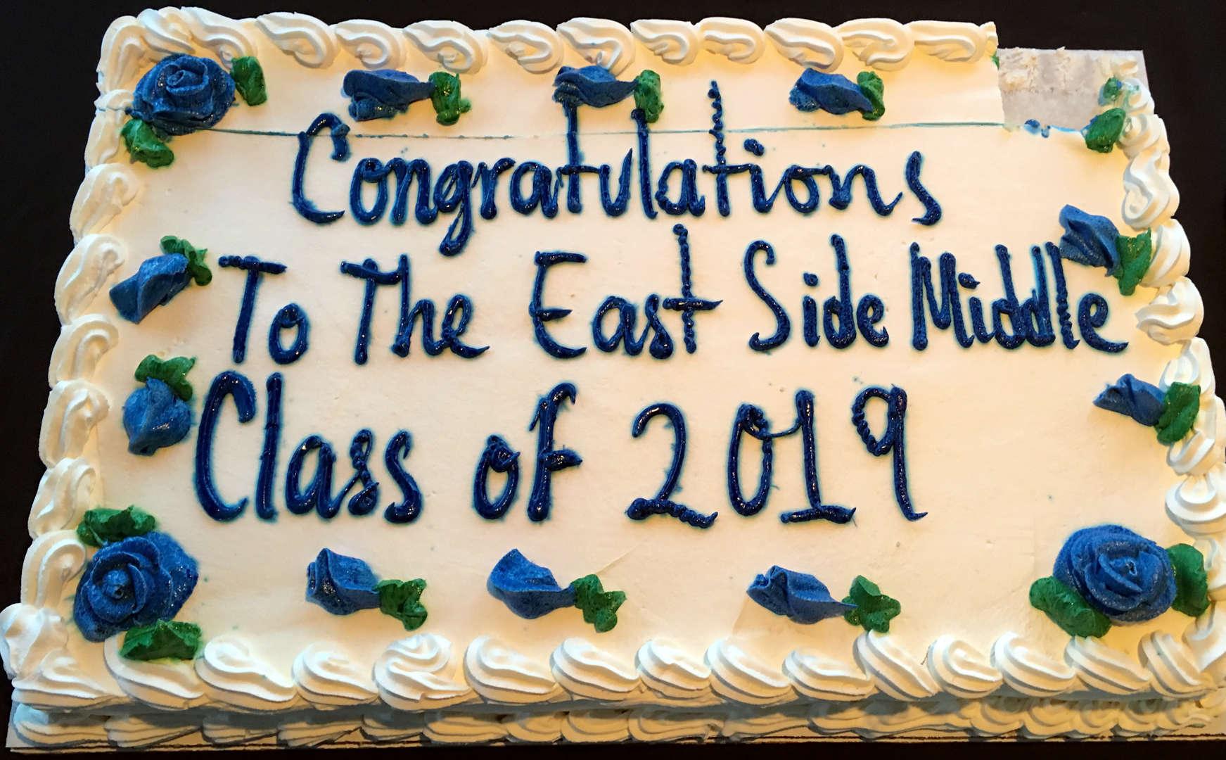 Photo of graduation cake 2019