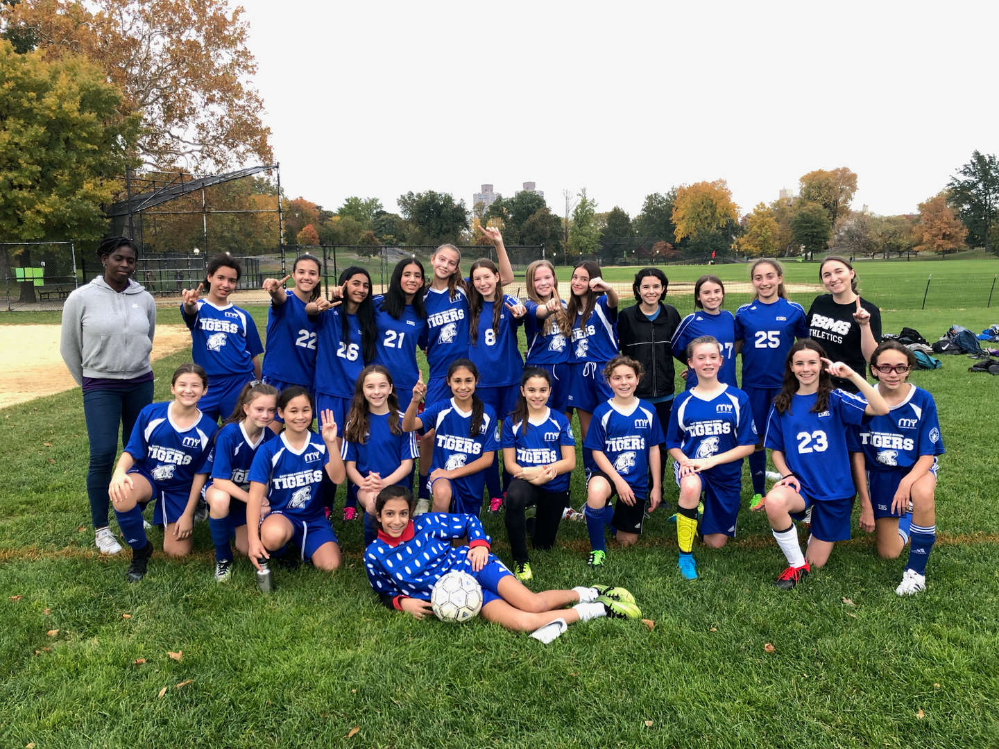 Photo of Girls Varsity Soccer Team 2019