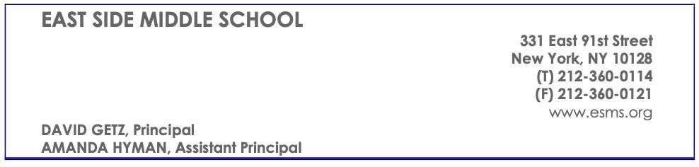 ESMS School Details