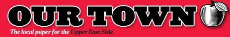 """Logo of the """"Our Town"""" newspaper"""