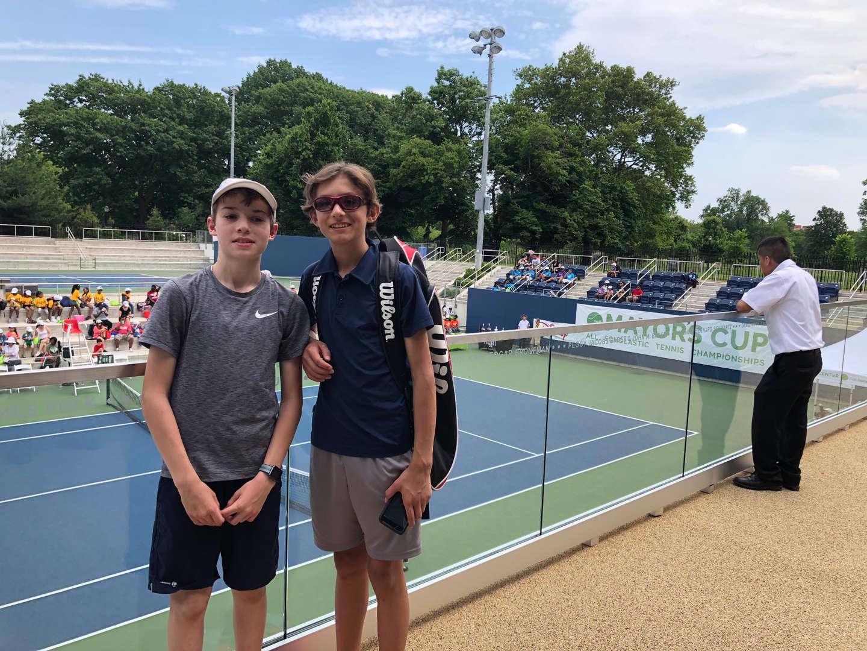 Tennis teammates