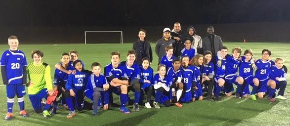 ESMS Boys Soccer Champs 2018