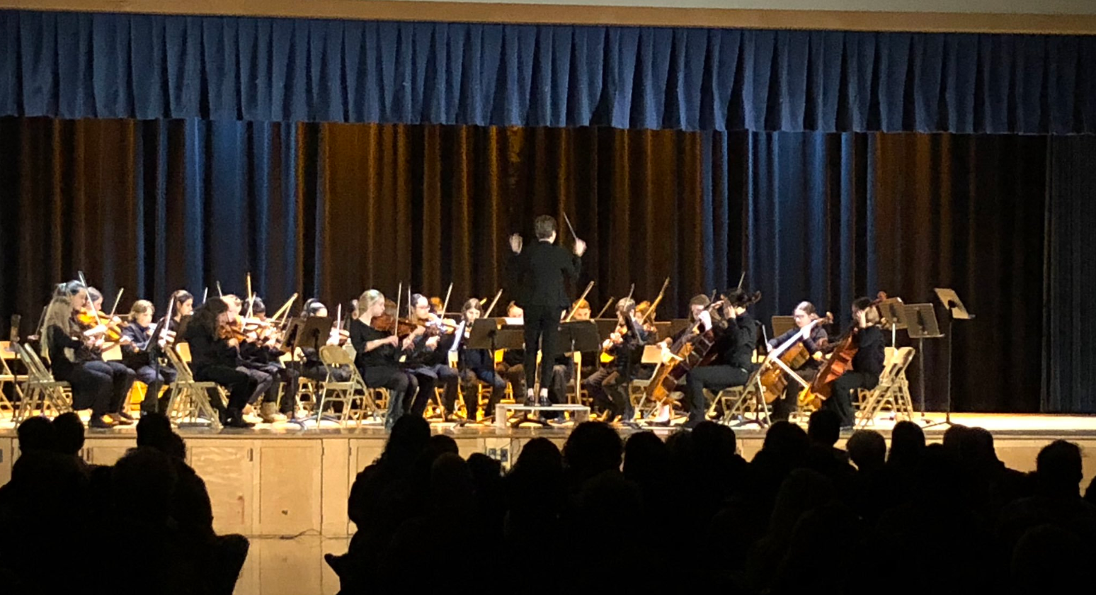 The Winter Orchestra Concert.