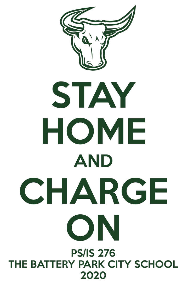 Text with Stay Home and Charge On