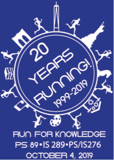 2019 Run for Knowledge logo