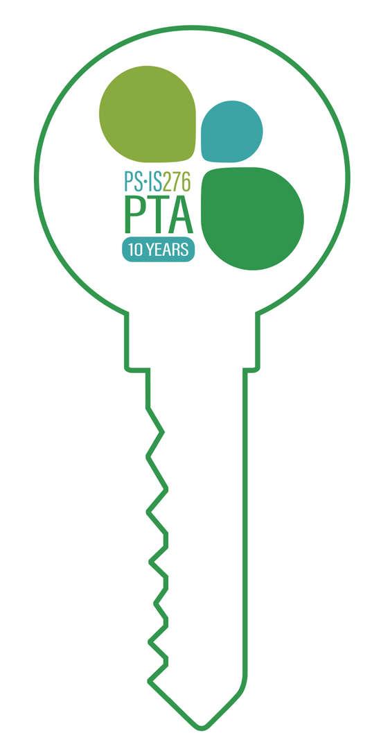 BPCS Logo inside the outline of a key