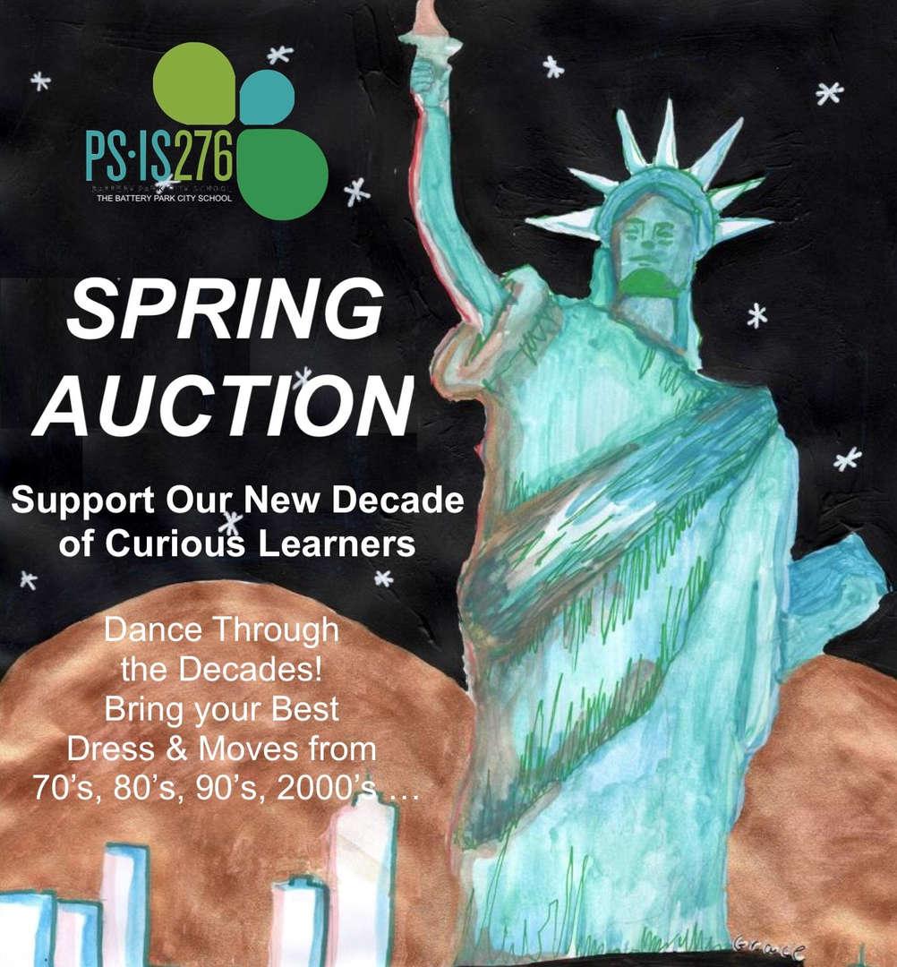 Spring Auction Logo