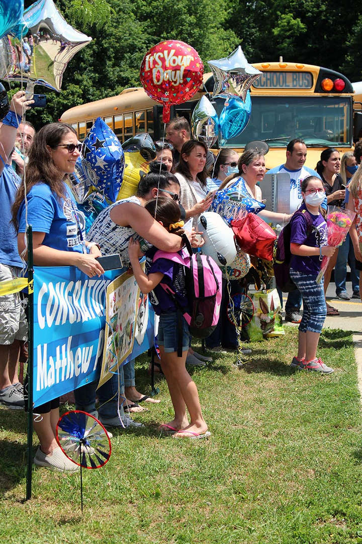 Families at Final Dismissal 2021