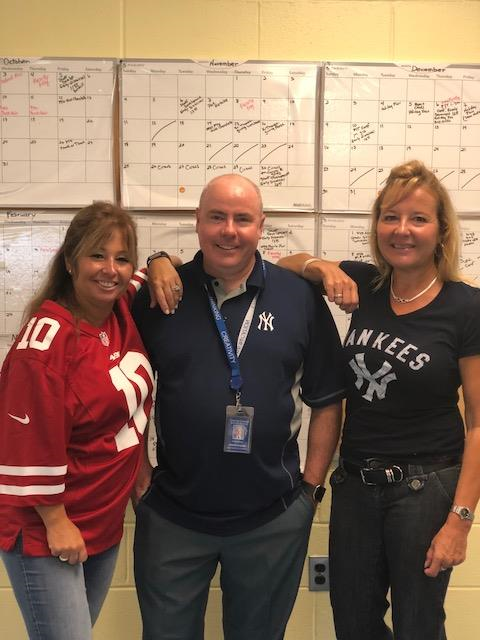 Spirit Week Team Jersey Day