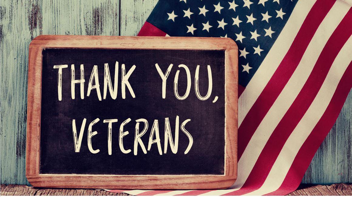 Thank you, Veterans