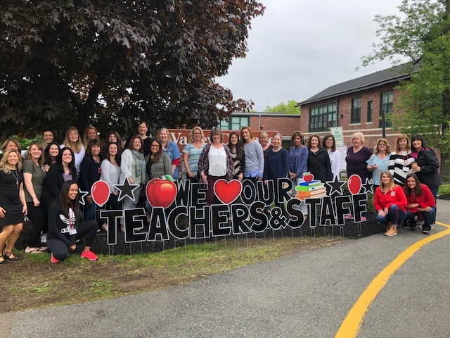 """VCE Staff Photo: """"We Love Our Teachers and Staff"""""""