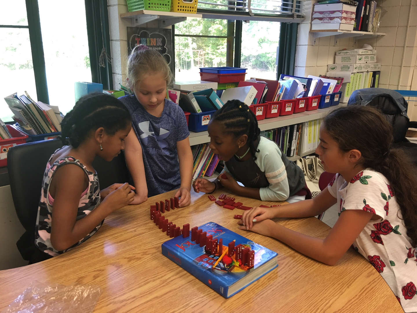 Gr.4 Parnther/McNamee - Science - Force in motion using dominoes