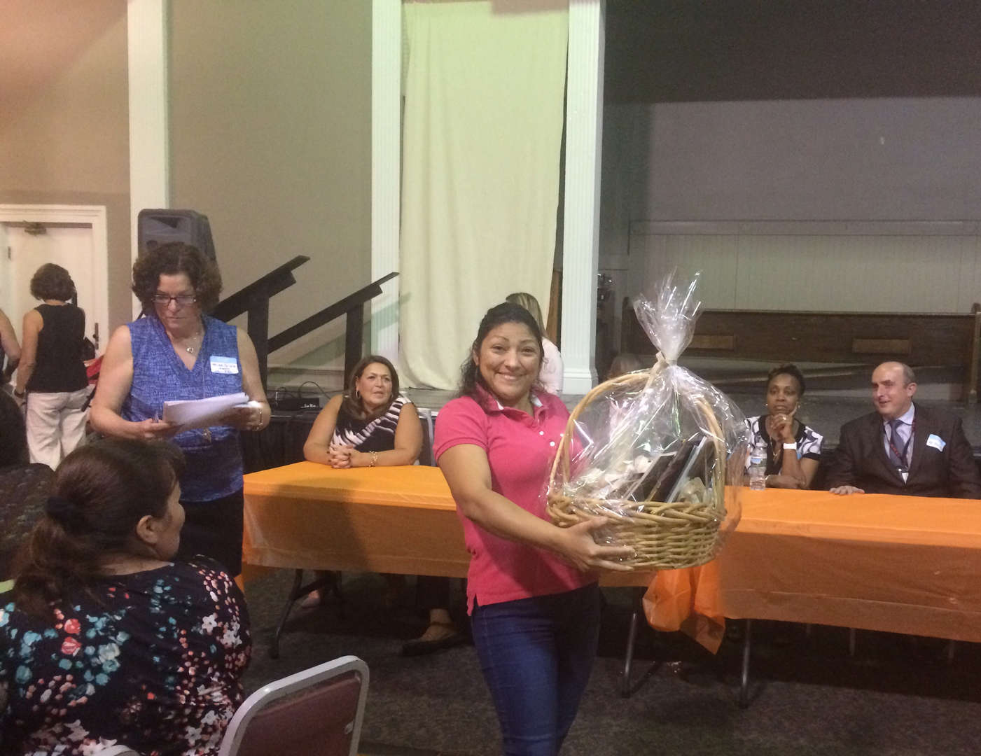 The Nyack Center Welcome Night is an annual event where families are invited to meet District leaders, ask questions and win prizes.  Translation services, dinner and childcare are provided!