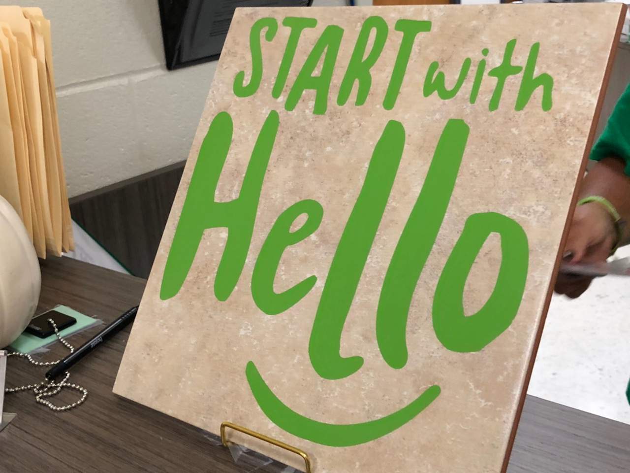 NMS Start with Hello Week