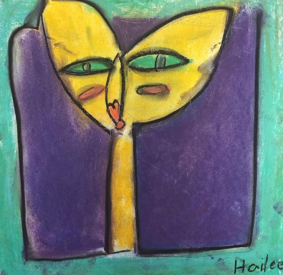 Hailee Gurba Gr 2 Chalk Klee-like Cat