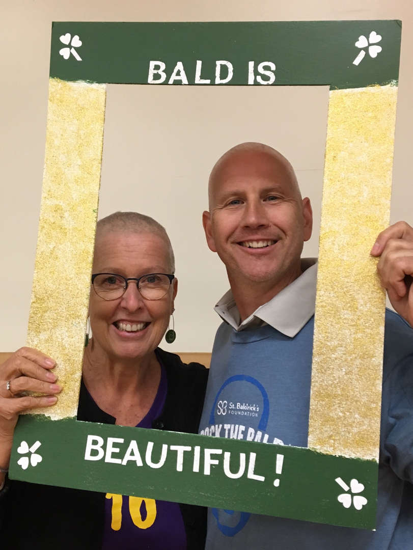 DTS Faculty participate at St. Baldrick's fundraiser