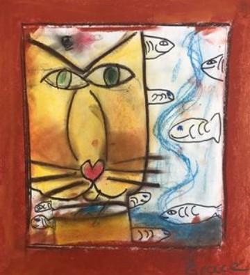 Grace Dormurat Gr 2 Klee-like Cat
