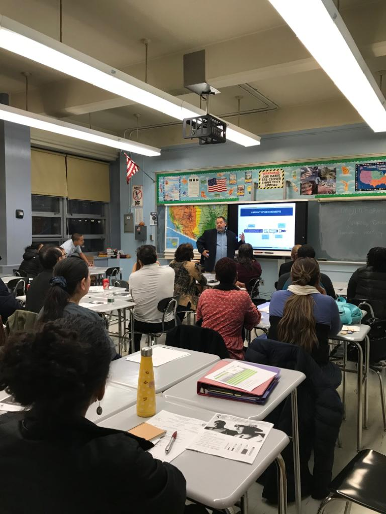 Our SPARK Counselor Mr. Foran, gave our parents a presentation on Vaping, Current drug trends and Prevention in November 2019.