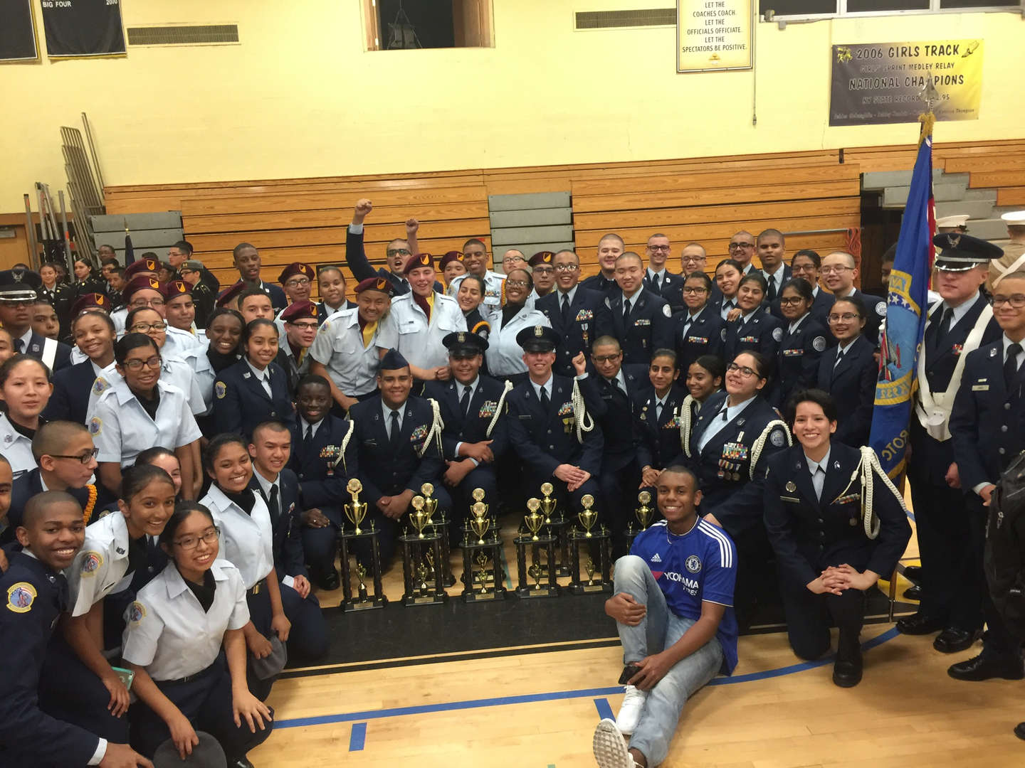 JROTC won many awards at the November 19, 2016 Drill Competition!