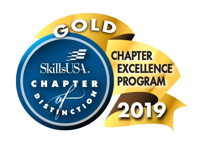 SkillsUSA Gold Chapter 2019 Award