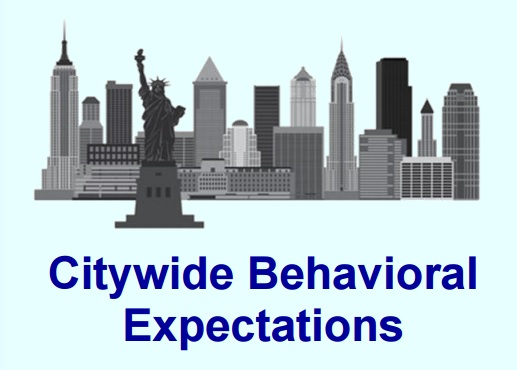 Image from the Citywide Behavioral Expectations Code of Discipline..