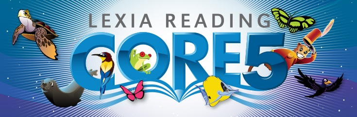 Lexia core 5 logo for a reading program