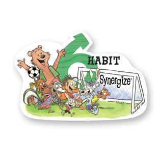 7 habits kid habit 6 poster