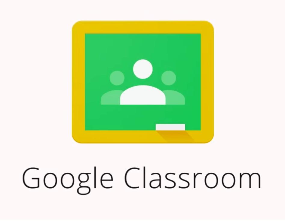 Google classroom logo online learning platform for students