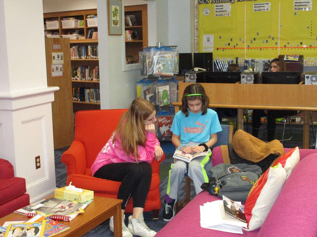 Hotchkiss student mentoring Sharon student