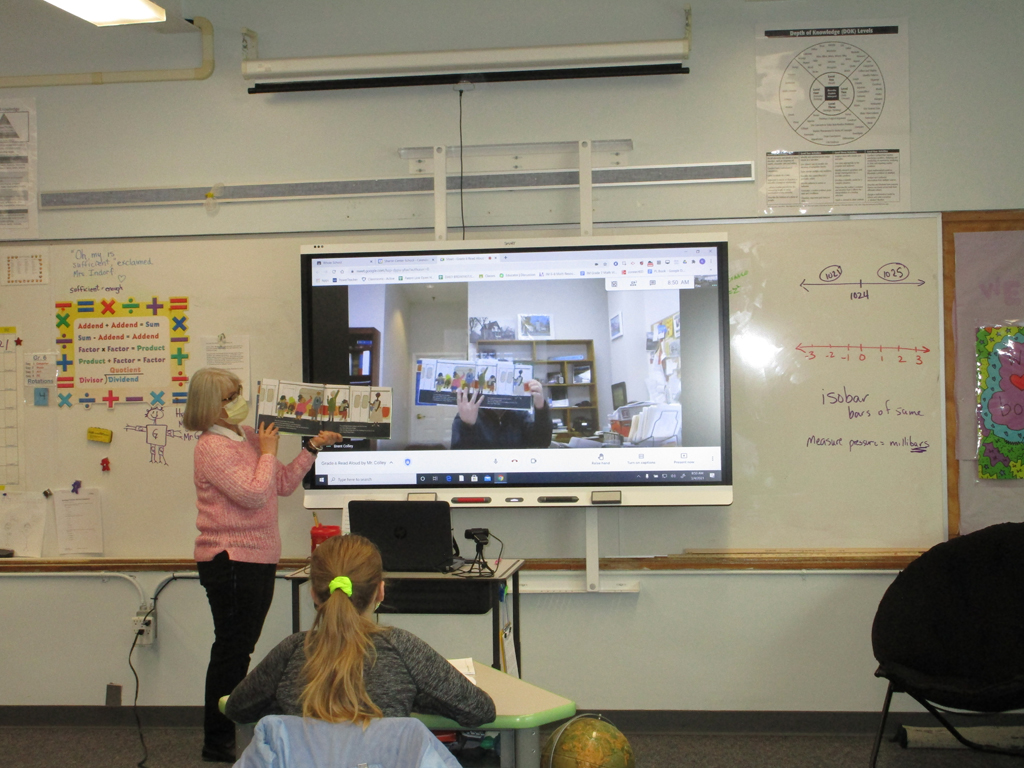 virtual read aloud