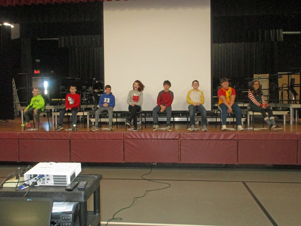 Geography Bee team starts the Geo Bee