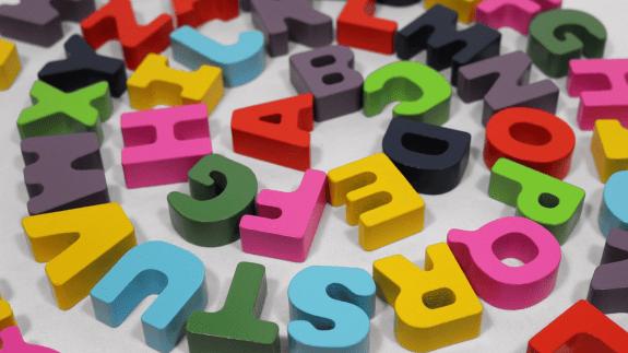 alphabet letters in blocks