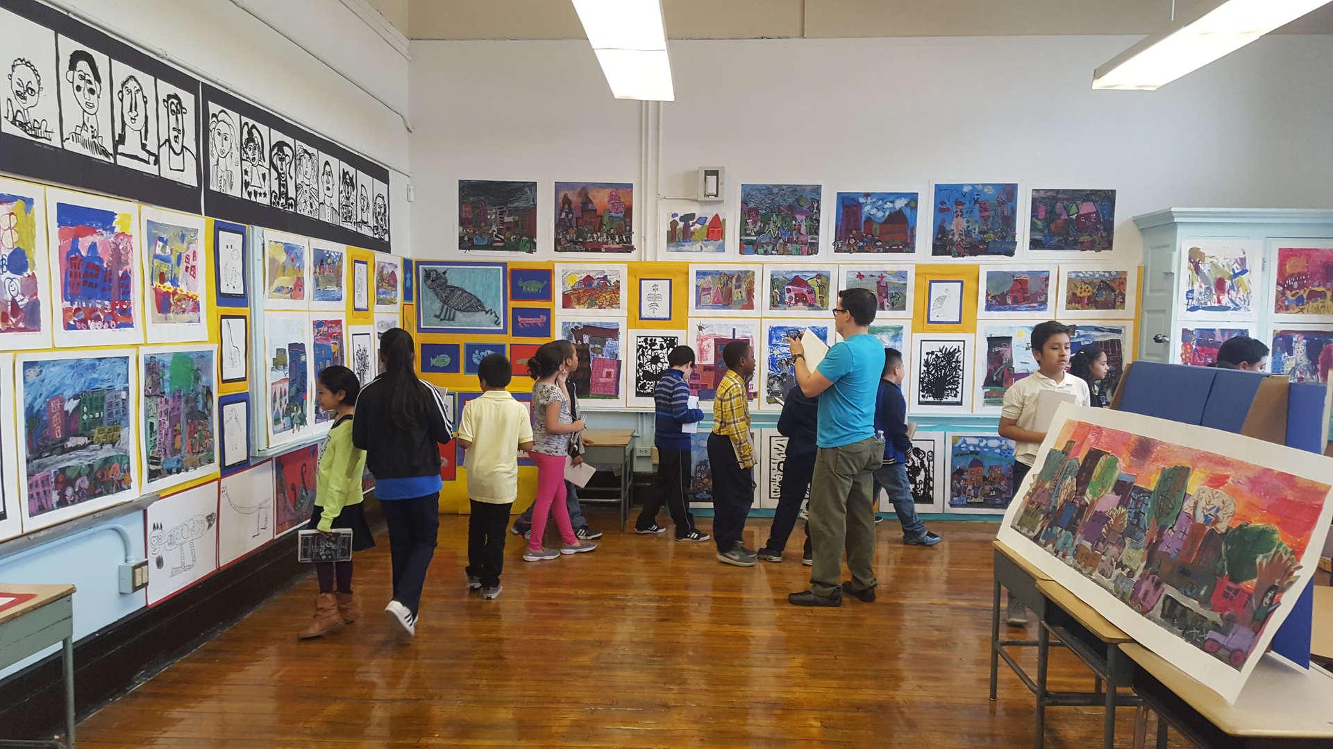 Studio in a School gallery