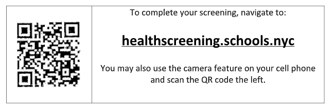 Health Screening qr code