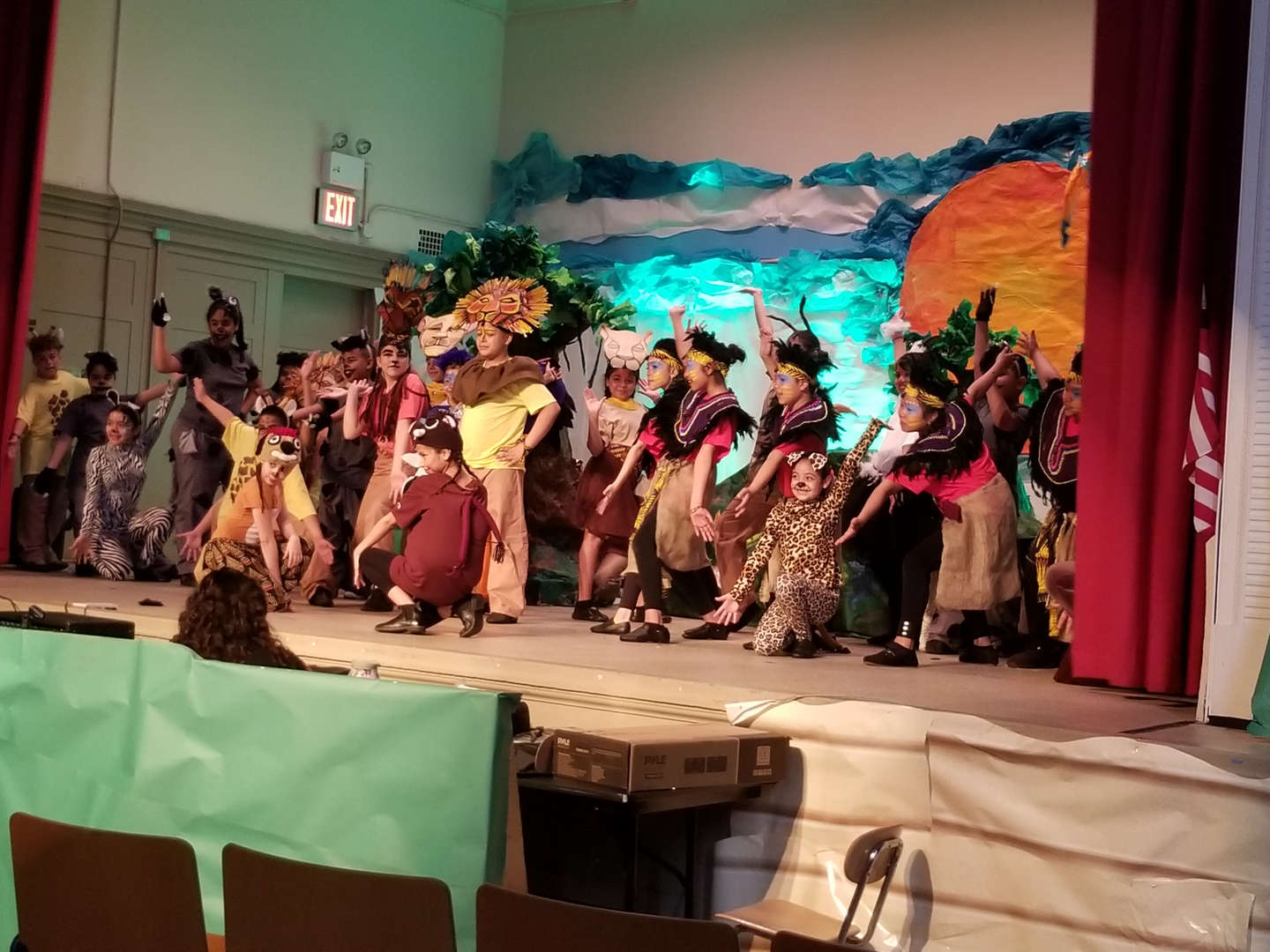 Lion King Kids performance of Circle of Life
