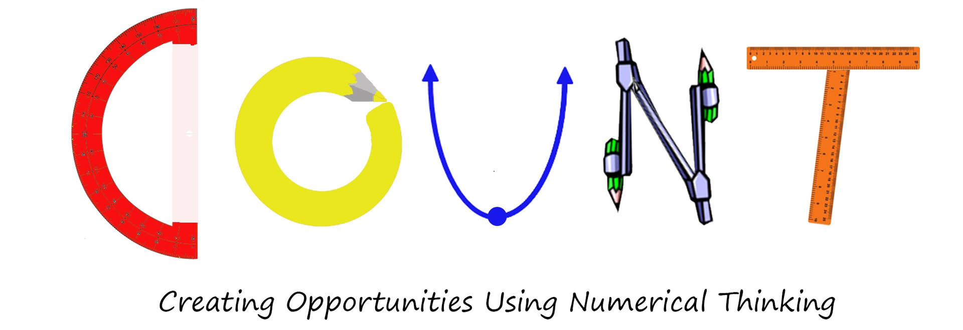 COUNT- Creating Opportunities Using Numerical Thinking banner