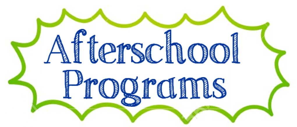 We have a variety of after school programs that are fun and help our learning environment