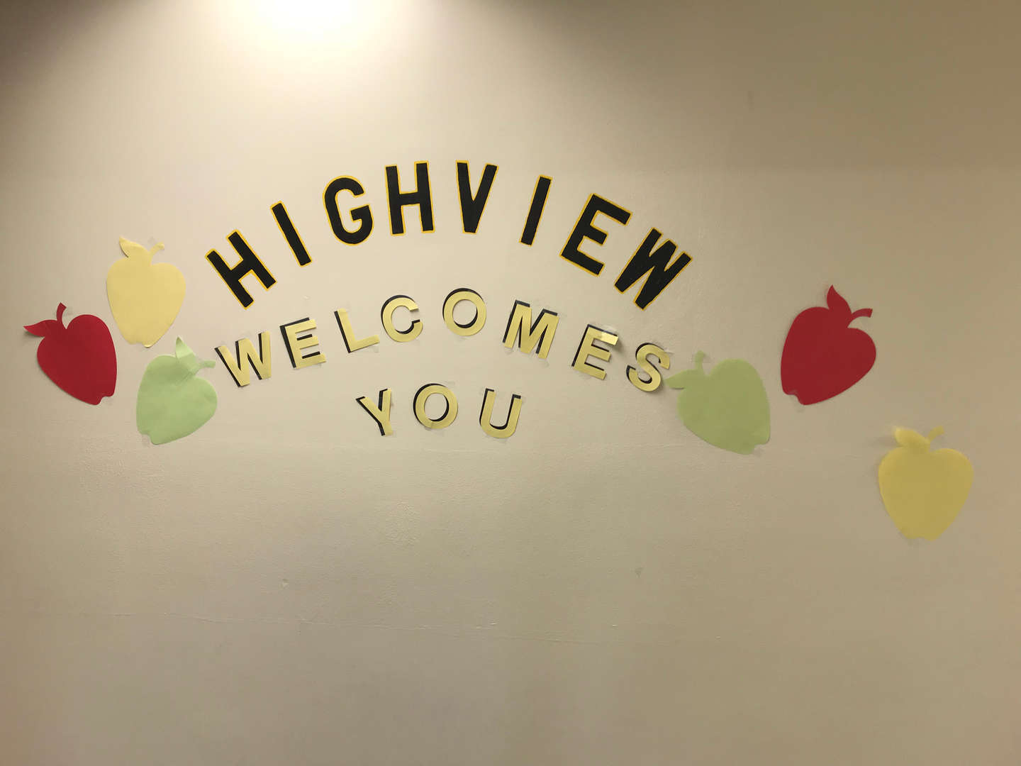 Highview Welcome Sign