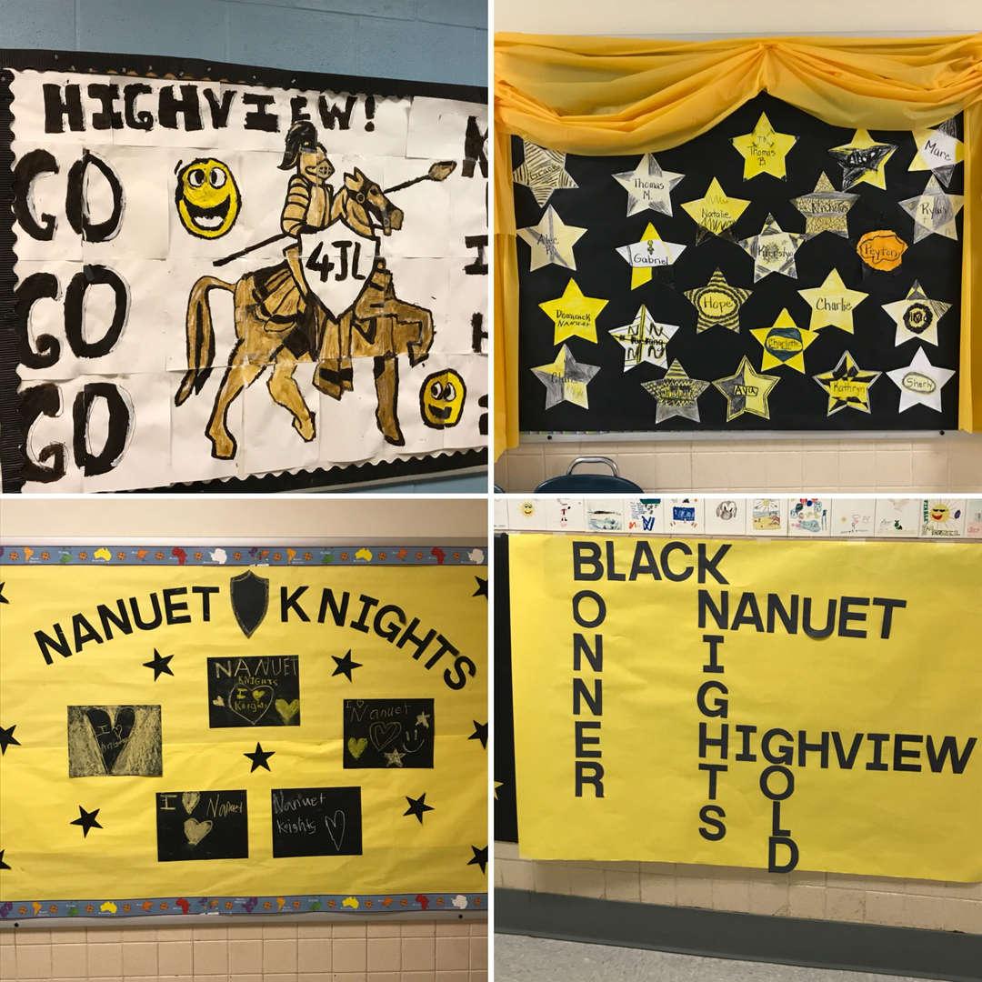 Nanuet Knight billboards.