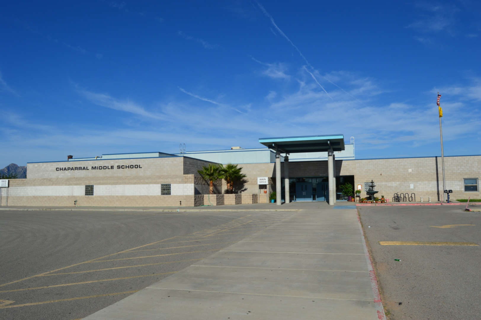 Chaparral Midlle School front fascade img