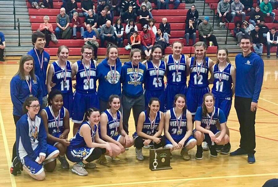 District Runner Up Girls Basketball Team